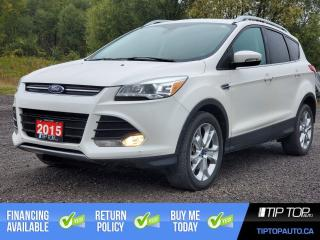 Used 2015 Ford Escape Titanium ** 1 Owner, Clean CarFax, LOADED ** for sale in Bowmanville, ON