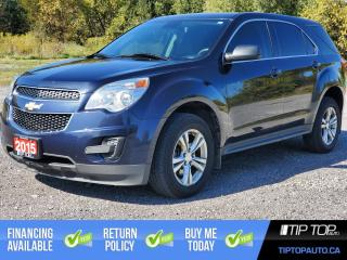 Used 2015 Chevrolet Equinox LS ** All Wheel Drive, 1 Owner, Clean CarFax ** for sale in Bowmanville, ON