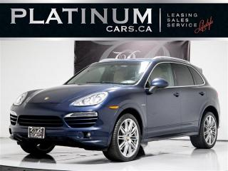 Used 2014 Porsche Cayenne Diesel,PREMIUM+, NAVI, SUNROOF, H/C LEATHER SEATS for sale in Toronto, ON