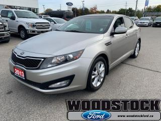 Used 2013 Kia Optima EX Turbo for sale in Woodstock, ON
