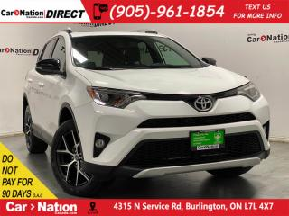 Used 2016 Toyota RAV4 SE| AWD| LEATHER| SUNROOF| NAVI| for sale in Burlington, ON