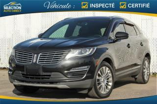 Used 2015 Lincoln MKC Traction intégrale, 4 portes for sale in Ste-Rose, QC