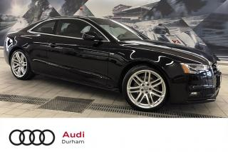 Used 2016 Audi A5 2.0T Technik + S-Line | Rear Cam | Nav for sale in Whitby, ON