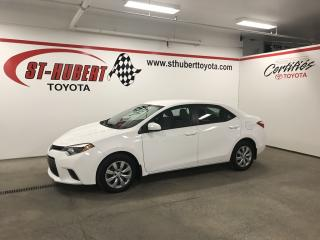 Used 2016 Toyota Corolla 4dr Sdn CVT LE for sale in St-Hubert, QC