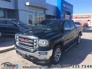 Used 2016 GMC Sierra 1500 SLT  - Leather Seats -  Heated Seats - $305 B/W for sale in Bolton, ON