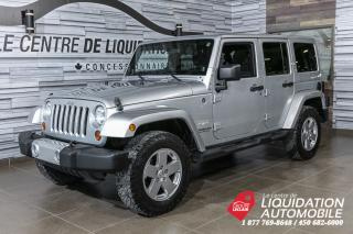 Used 2011 Jeep Wrangler Sahara for sale in Laval, QC