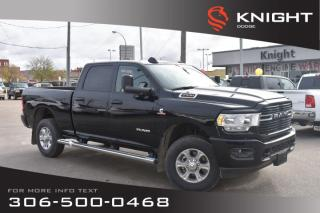 New 2019 RAM 2500 Big Horn Crew Cab | Heated Seats and Steering Wheel for sale in Swift Current, SK