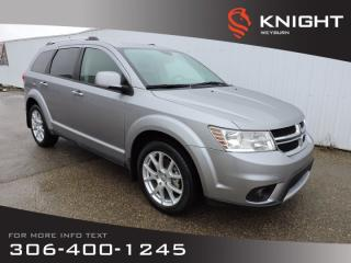 Used 2015 Dodge Journey R/T | Leather Seats | DVD | Back-up Camera | Heated Front Seats for sale in Weyburn, SK