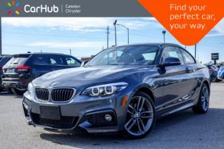 Used 2018 BMW 2 Series 230i xDrive|Navi|Sunroof|Backup Cam|Bluetooth|Heated Front Seats|Push Start|18