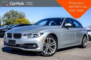 Used 2018 BMW 3 Series 330i xDrive|Navi|Sunroof|Bluetooth|Backup Cam|Heated Front Seats|Push Start|18
