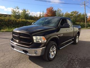 Used 2013 RAM 1500 Cabine quad 4RM, 140,5 po SLT for sale in Quebec, QC
