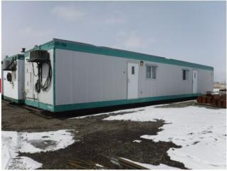 Used 1999 60 Ft. Skid Mounted Modular Office Trailer for sale in Red Deer, AB