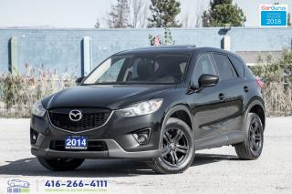 Used 2014 Mazda CX-5 AWD SUNROOF RCAM CLEAN CARFAX CERTIFIED WE FINANCE for sale in Bolton, ON