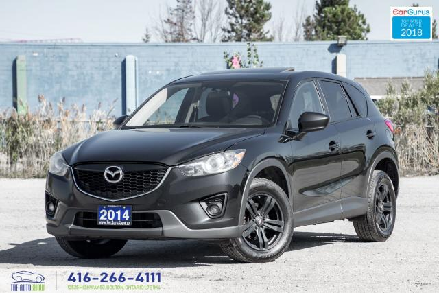2014 Mazda CX-5 AWD SUNROOF RCAM CLEAN CARFAX CERTIFIED WE FINANCE