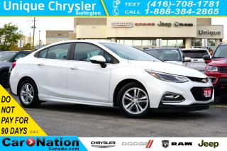 Used 2016 Chevrolet Cruze LT CONVENIENCE / TECHNOLOGY / RS PKG & MORE for sale in Burlington, ON