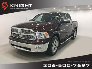 Used 2012 RAM 1500 Laramie Crew Cab | Sunroof | Navigation for sale in Regina, SK