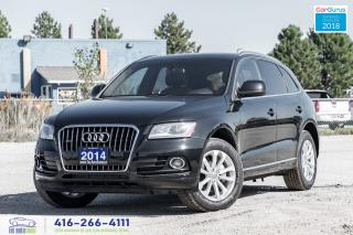 Used 2014 Audi Q5 2.0L Progressiv Navi PanoRoof Certified We Finance for sale in Bolton, ON