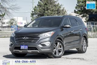 Used 2013 Hyundai Santa Fe XL LIMITED TECH AWD CERTIFIED CLEAN CARFAX WE FINANCE for sale in Bolton, ON