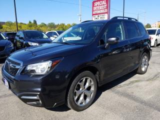 Used 2018 Subaru Forester 2.0XT Limited NAVIGATION !!  SUNROOF !!  LEATHER !! for sale in Cambridge, ON