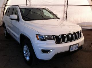 Used 2019 Jeep Grand Cherokee Laredo 7.0 TOUCHSCREEN, APPLE CARPLAY, BLIND SPOT AND CROSS PATH DETECTION, REAR PARK SENSE for sale in Ottawa, ON
