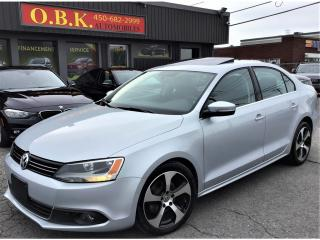 Used 2012 Volkswagen Jetta TDI-DSG-TOIT OUVRT-AUTOM-CUIR-APPLECARPLAY/ANDROID for sale in Laval, QC