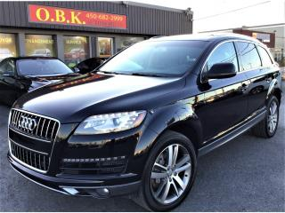 Used 2011 Audi Q7 QUATTRO-7 PASSAGERS-NAVI-TOIT PANO-CAM DE RECUL for sale in Laval, QC