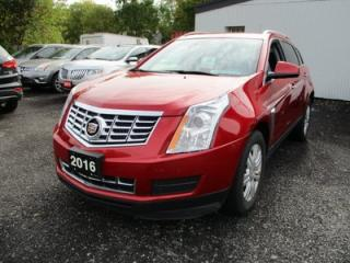 Used 2016 Cadillac SRX LOADED ALL-WHEEL DRIVE 5 PASSENGER 3.6L - V6.. NAVIGATION.. LEATHER.. HEATED SEATS.. PANORAMIC SUNROOF.. BACK-UP CAMERA.. BLUETOOTH SYSTEM.. for sale in Bradford, ON