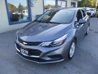 Used 2018 Chevrolet Cruze LIKE NEW LT MODEL 5 PASSENGER 1.4L - TURBO.. FACTORY WARRANTY.. BOSE AUDIO.. BACK-UP CAMERA.. POWER SUNROOF.. BLUETOOTH SYSTEM.. for sale in Bradford, ON
