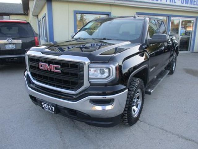 2017 GMC Sierra 1500 GREAT KM'S SL EDITION 6 PASSENGER 5.3L - VORTEC.. 4X4.. CREW.. SHORTY.. BACK-UP CAMERA.. BLUETOOTH SYSTEM.. AUX/USB INPUT..