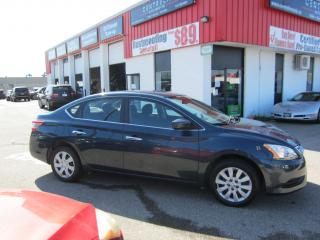 Used 2015 Nissan Sentra S $9,995+HST+LIC FEE / LOW KMS / CERTIFIED for sale in North York, ON