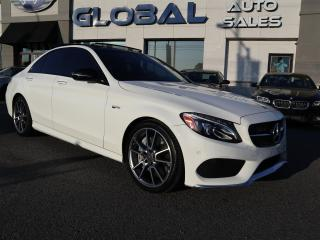 Used 2017 Mercedes-Benz C43 NAV. PANORAMIC ROOF, ONLY 27 KM. for sale in Ottawa, ON
