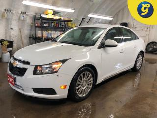 Used 2013 Chevrolet Cruze Eco w/1SA * Remote start * On Star * Climate control * Phone connect * Hands free steering wheel controls * Automatic/manual mode * Tilt steering * Cr for sale in Cambridge, ON