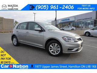 Used 2018 Volkswagen Golf 1.8 TSI TRENDLINE | REAR CAM | APPLE CARPLAY for sale in Hamilton, ON
