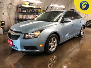 Used 2012 Chevrolet Cruze LT * Remote start * On Star * Climate control * Phone connect * Hands free steering wheel controls * Automatic/manual mode * Tilt steering * Cruise co for sale in Cambridge, ON