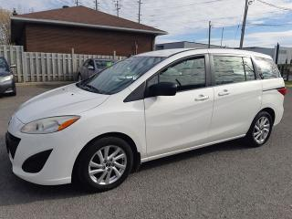 Used 2013 Mazda MAZDA5 GS, AUTO, POWER GROUP, ACCIDENT FREE, 133 KM for sale in Ottawa, ON