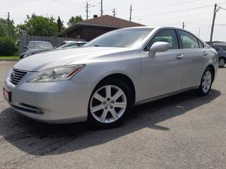 Used 2008 Lexus ES 350 BLUETOOTH, LEATHER, SUNROOF, ACCIDENT FREE, 154KM for sale in Ottawa, ON