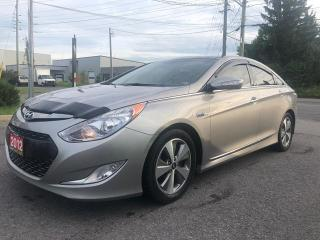 Used 2012 Hyundai Sonata HEV w/Premium Pkg for sale in Ottawa, ON