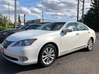 Used 2012 Lexus ES 350 POWER GROUP, SUNROOF, BLUETOOTH, 86 KM for sale in Ottawa, ON