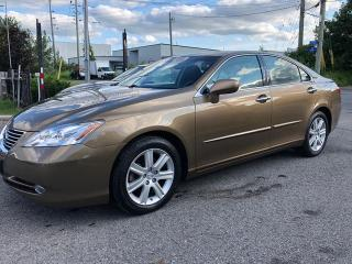 Used 2009 Lexus ES 350 NAVI, BACKUP CAM, BLUETOOTH, POWER GROUP, 157KM for sale in Ottawa, ON