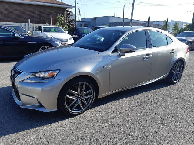 2016 Lexus IS 300 F-SPORT, AWD, NAVI, CAM, BLUETOOTH, PGROUP, 40 KM