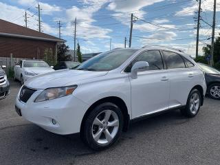 Used 2010 Lexus RX 350 AWD, BACKUP CAM, BLUETOOTH, POWER GROUP, 135 KM for sale in Ottawa, ON