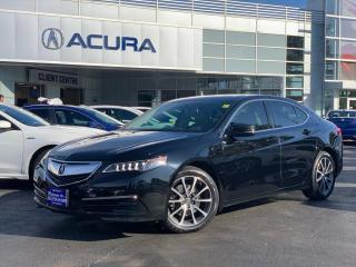 Used 2015 Acura TLX 1OWNER | LEATHER | TINT | HTDSEATS | $1000OFF | for sale in Burlington, ON