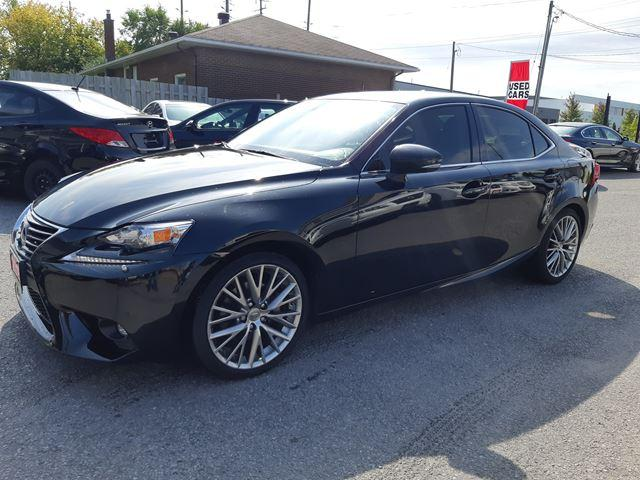 2015 Lexus IS 250 AWD, NAVI, CAMERA, BTOOTH, FULLY LOADED 106 KM