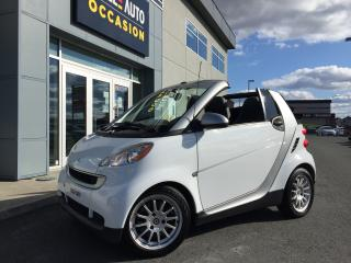 Used 2011 Smart fortwo 2dr Cabriolet Passion for sale in St-Georges, QC