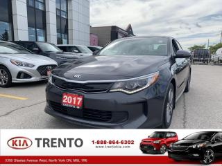 Used 2017 Kia Optima Hybrid EX PREMIUM |ONE OWNER| WINTER PACKAGE| FUEL SAVER for sale in North York, ON