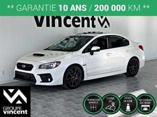 Used 2018 Subaru WRX SPORT TECH AWD NAV ** GARANTIE 10ANS ** Véhicule recherché! for sale in Shawinigan, QC