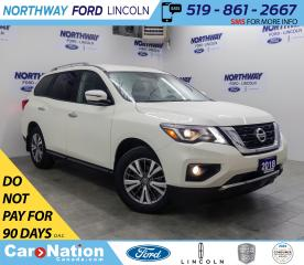 Used 2018 Nissan Pathfinder SV | AWD | NAV | HTD SEATS | 3 ROW | PUSH START | for sale in Brantford, ON