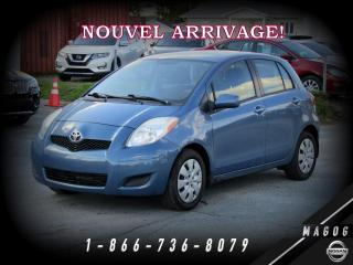 Used 2010 Toyota Yaris LE + GROUPE ÉLECTRIQUE + CLIMATISEUR! for sale in Magog, QC