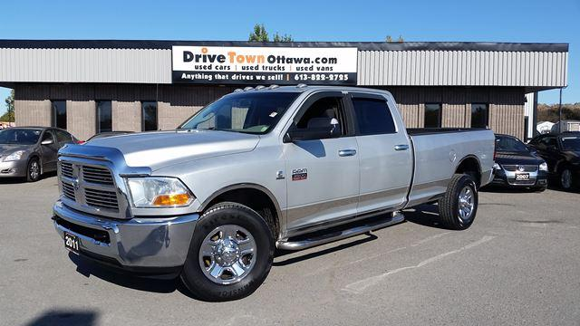 2011 RAM 3500 SLT CREW CAB 4X4 8FT BOX **CUMMINS DIESEL**
