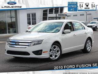 Used 2010 Ford Fusion SE**CRUISE*A/C*GR. ELECTRIQUE** for sale in Victoriaville, QC